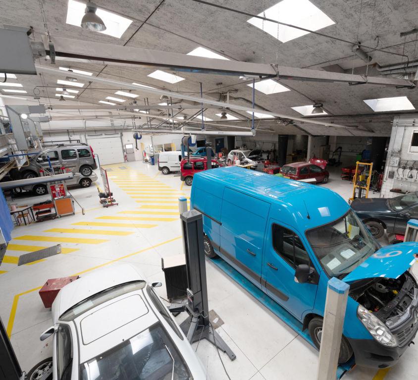 MV – Maintenance des véhicules options voitures particulières