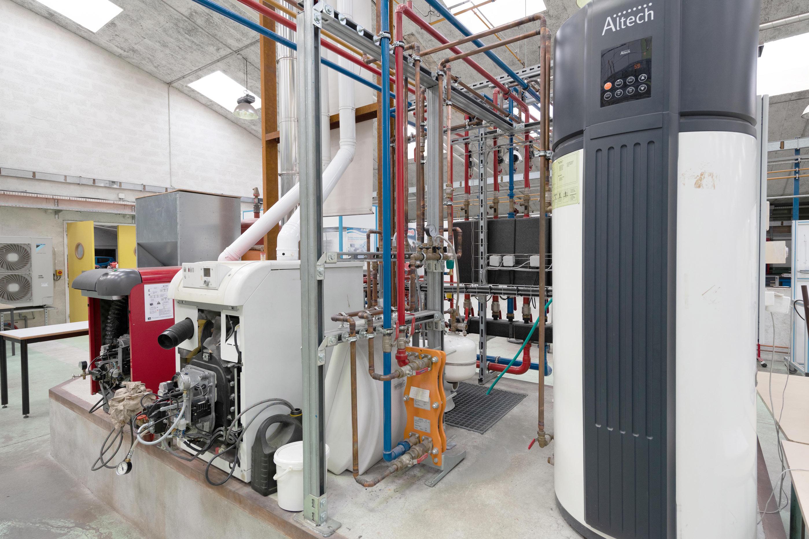 Machines climatisation et chauffage