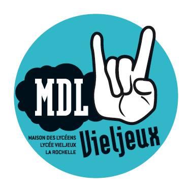 Logo Maison des lycéens lycée Vieljeux